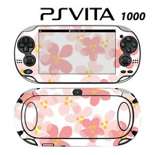 Vinyl Decal Skin Sticker for Sony PS Vita PSV 1000 Sweet Floral Pink