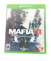Microsoft Xbox One Video Game Mafia 3 III Brand NEW Sealed 2016