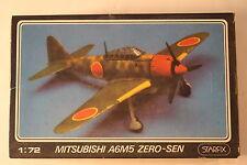 "Japan Mitsubishi A6M5 Zero ""Zeke"", 1/72 Starfix kit 709/08, Airplane Model Kit"