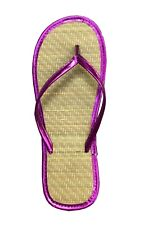 8371764ab129 New Women s Bamboo Flip Flop Sandals Beach Gym Pool Party Wedding