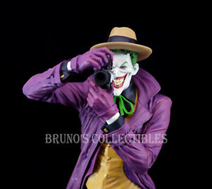 Designer Series The Joker Statue Full Size by Brian Bolland DC Comics