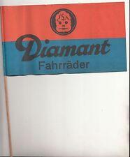 Alter DDR Diamant Fahrrad Fahrräder Wimpel Papier Fähnchen Reklame Oldtimer !