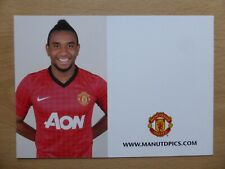 2012-13 Anderson Unsigned Man Utd Club Card - RARE (9678)