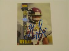 GREG HILL 1994 SIGNATURE ROOKIES AUTOGRAPH CARD TET RAD SP#/7750 TEXAS A&M