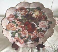 FRANKLIN MINT VICTORIAN ROSE Collectors Plate
