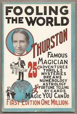 Fooling The World by Howard Thurston 1928 Pitch Book - Fooling Millions