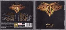 JADED HEART - DIARY 1990-2000 CD 2001 MTM MUSIC HARD ROCK METAL