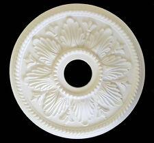 "18"" Dia. Ceiling fan, Light Chandelier Plaster PU Ceiling Medallion #M119H"