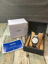 SEIKO 7N43-9080 Day Date Quartz Watch *Read*