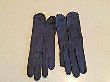 Vintage Hansen Marked 6 Irregular Women's Black Gloves (Nwot)