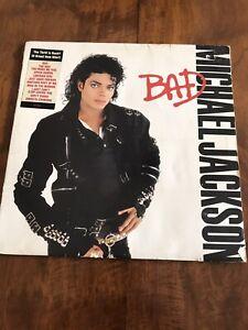 Michael Jackson - BAD original Aus LP