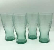 COLLECTABLE 1948 McDONALDS GLASSES - SET OF 4 - USED