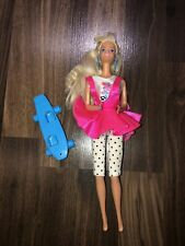Vintage 1988 Cool Times Barbie Doll / Ice Cream # 3022 / Mattel Original Outfit