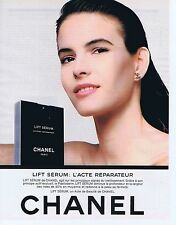 Publicité Advertising 016 1988 Chanel lift Sérum