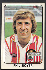 Panini football 1979 sticker-nº 328-southampton-phil boyer