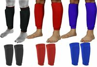 Shin pad Guard Socks Sleeves leg protector Mens Teenagers Boys Girls Football