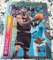 MICHAEL JORDAN 1996 Topps Mystery Finest RARE Chicago Bulls HOF 6x Champs MVP $$