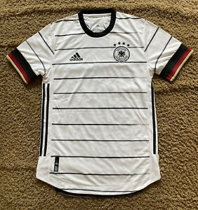 Adidas 20/21 Germany Authentic Home Jersey Size Extra Large Heatready