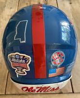 Ole Miss 'Sugar Bowl' Game Used Helmet