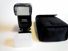 Nikon Speedlight SB-800 SB800 Flash Works Great Has Diffuser & SS-800 Case