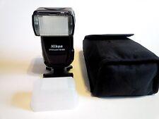 Nikon Speedlight SB-800 SB800 Flash Works Great / Diffuser & SS-800 Case & Stand