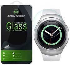 Dmax Armor® Samsung Gear S2 4G Tempered Glass Screen Protector Saver shield