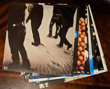 U2 Achtung Baby Anton Corbijn 1991 Usa Promo Posters 9-16 Very Good Condition