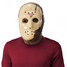 Dlx Jason Costume Mask Friday the 13th Adult Mens Full Overhead Latex Halloween