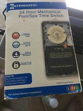 Intermatic T101R201 40 AMP 24 HOUR Time Switch Metal Enclosure Heat Protect