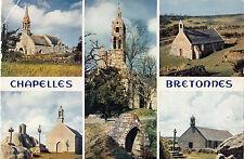 BF20132 chapelles bretonnes la madeleine les trois font france  front/back image