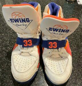 Patrick Ewing Autographed Game Worn New York Knicks Sneakers HOF