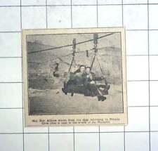 1950 Maj Eric Allison Waves From Skip After Visiting Warspite