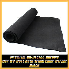 Car UTE Tailgate Carpet Black Interior Trunk Liner Carpet Floor Mat 25cm x 200cm