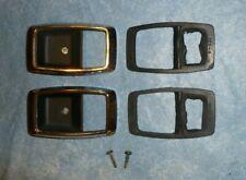 NICE OEM Ford Ranger / Bronco II Interior Door Latch Bezels, Chrome, 1983 -1988