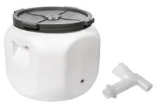 40L  Getränkefass Tonne Lagerfass Lebensmittelfass Fass mit Hahn Wasserkanister