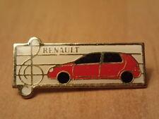Vintage Hat/Lapel Pin/Pinback-RENAULT CLIO ADVERTISING PARIS, FRANCE-Rare Item