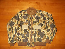 VTG-Columbia Radial Insert Shooting Duck Camo Camouflage Hunting Jacket XL