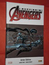 NUOVISSIMI AVENGERS - ARTIST EDITION - DI:MARK WAID-  cartonato - panini comics