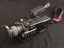 Vintage 1987 Sony Video Camera Recorder (CCD-V5) With Vintage Tamrac Camera Bag