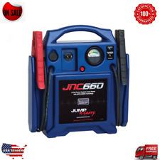 JNC660 1700 Amp Heavy Duty 12v Booster pack Portable Jump Starter Jumper Box