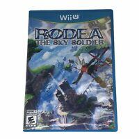 Rodea the Sky Soldier (Nintendo Wii U, 2015) w/Wii Disc Complete w/Manual CIB