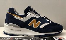 """New Balance 997 M997PAN """"Blue White"""" Men's Size 6 Made In USA Running Shoes"""
