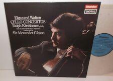 ABRD 1007 Elgar & Walton Cello Concertos Ralph Kirshbaum SNO Gibson