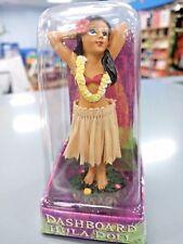 Hawaiian Hawaii  Hula Girl Movable Dashboard Doll 4 inches tall