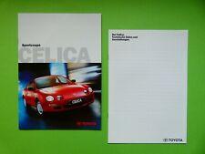 Prospekt / Katalog / Brochure Toyota Celica 1,8 und Celica GT 2,0  03/98