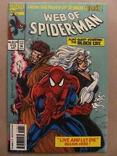 Web of Spider-Man #113 Marvel 1985 Series 16pg Preview & Animation Cell 9.4 NM