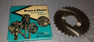 "Brown & Sharpe Slitting Cutting Saw Blade p/n 602C-10 (3"" diameter x 1/8""wide)"