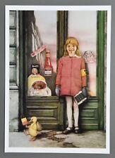 Gottfried Helnwein Kunstdruck Art Print 31x44cm Sunday's Child Sonntagskind 1972
