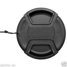 67 MM GENERIC CENTRE-PINCH CLIP-ON FRONT LENS CAP-COVER FOR NIKON CANON SONY