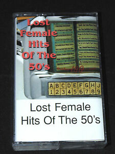 Lost Female Hit's of the 50s Cassette Tape Audio Music Pop The Rock & Roll Waltz